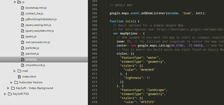 KeySoft | Theme Documentation